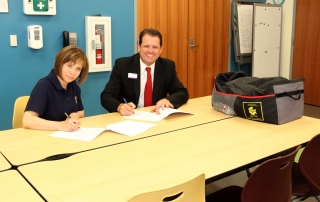 Memorandum of Understanding Signed between the Sedgwick County Animal Response Team and the Kansas Humane Society